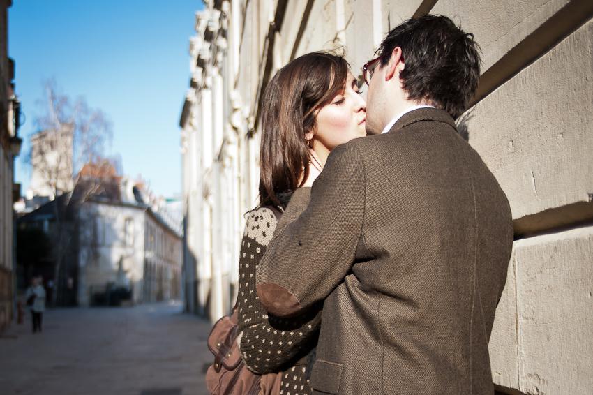 Séance Couple Céline et Mathieu à Dijon - Photographe Mariage Dijon et Lyon
