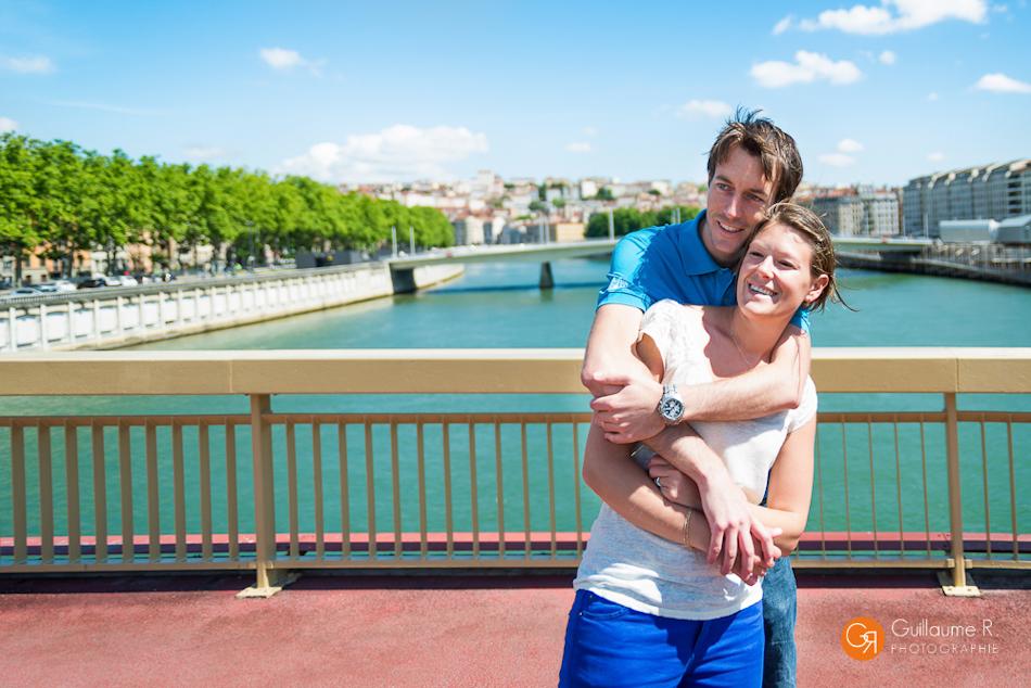 Séance photo couple Laure et Damien à Lyon - Photographe Mariage Dijon et Lyon