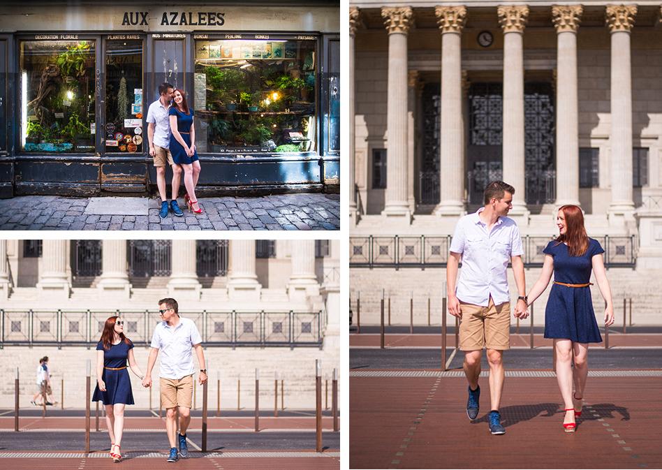 Séance photo couple Pauline et Maxime à Lyon - Photographe Mariage Dijon et Lyon