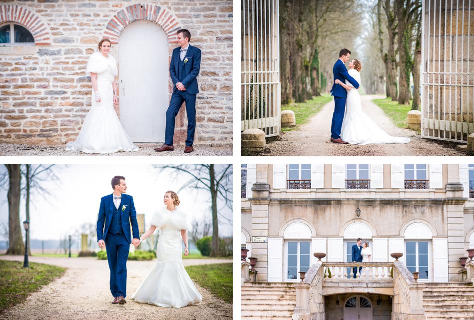 Mariage de Pauline et Maxime à Dijon et au Château de Trouhans